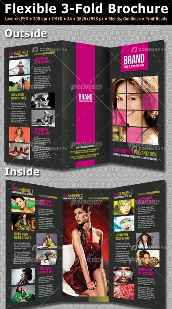 Flexible 3-Fold Brochure