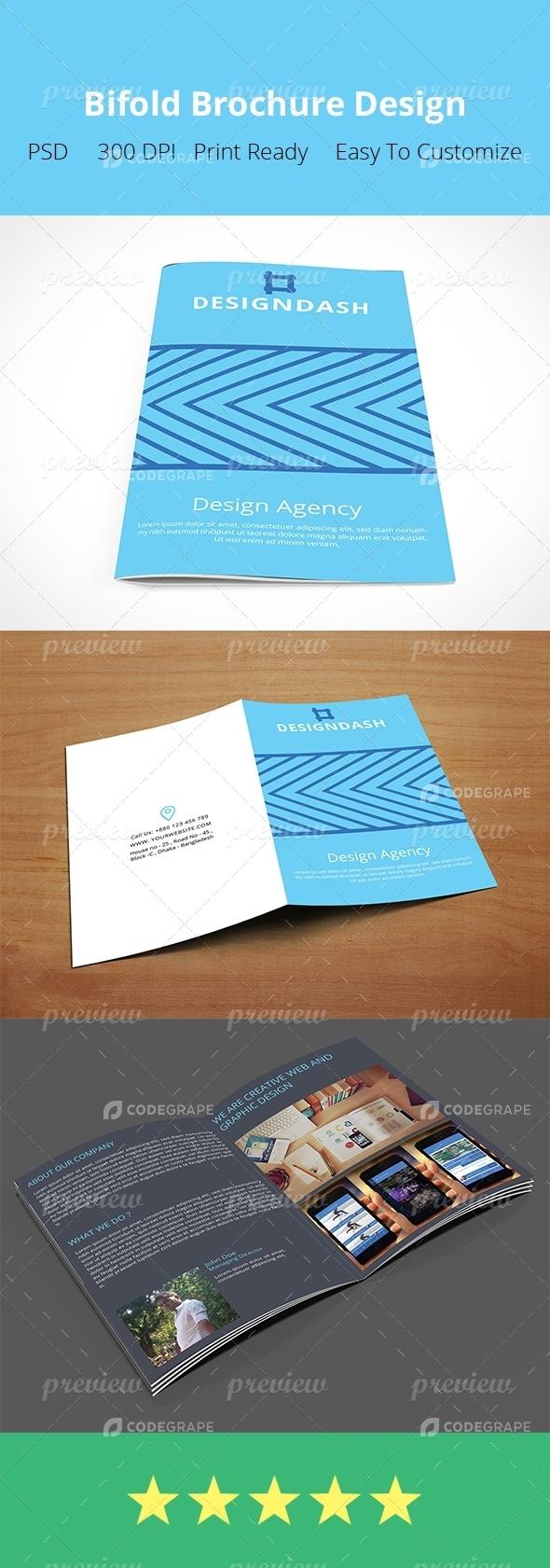 Design Bifold Brochure