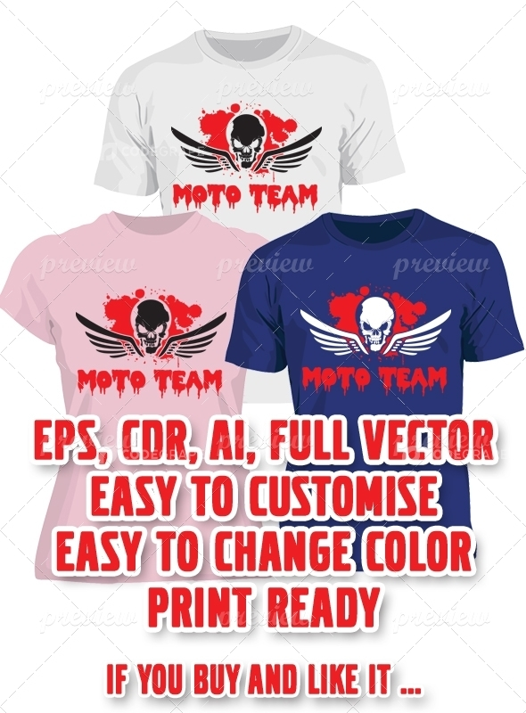 Moto Team T-shirt