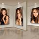 Photo Frames On Art Wall V8