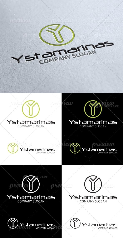 Ystamarinas Y Letter Logo