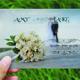 Modern Style Wedding invitation Post Card