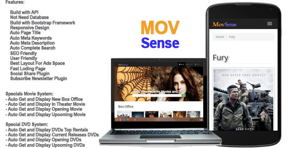 MovSense Automatic Movies and DVDs Search Engine
