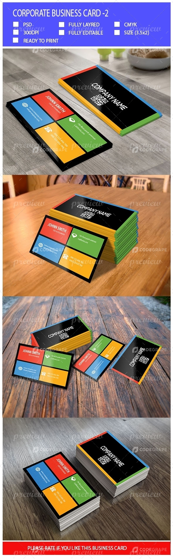 Corporate Business Card-2