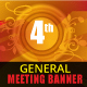 General Meeting Banner Templates