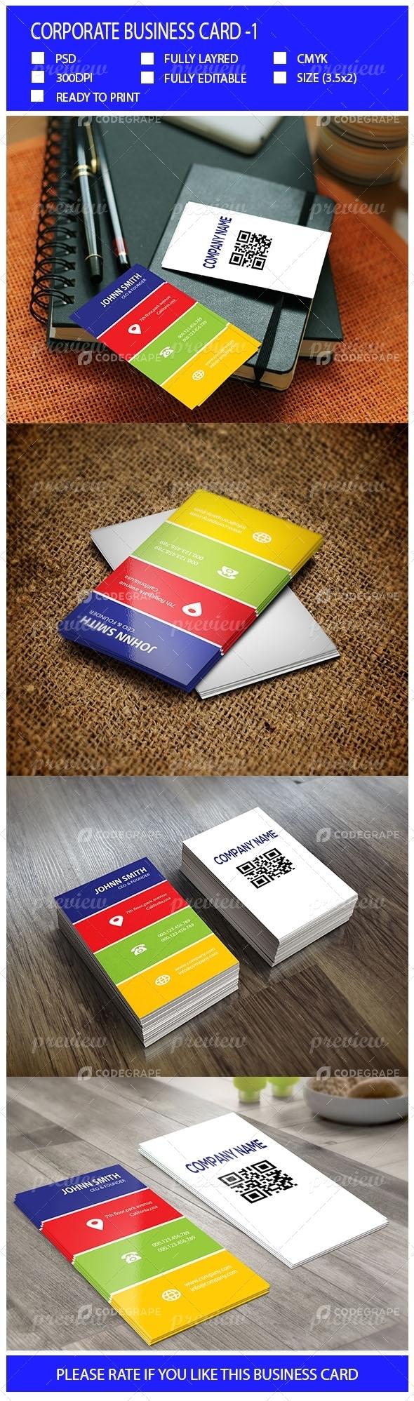 Corporate Business Card-1