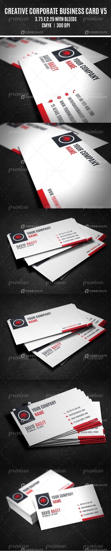 Creative Corporate Business Card V5