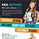 Kids Activies Education Flyer