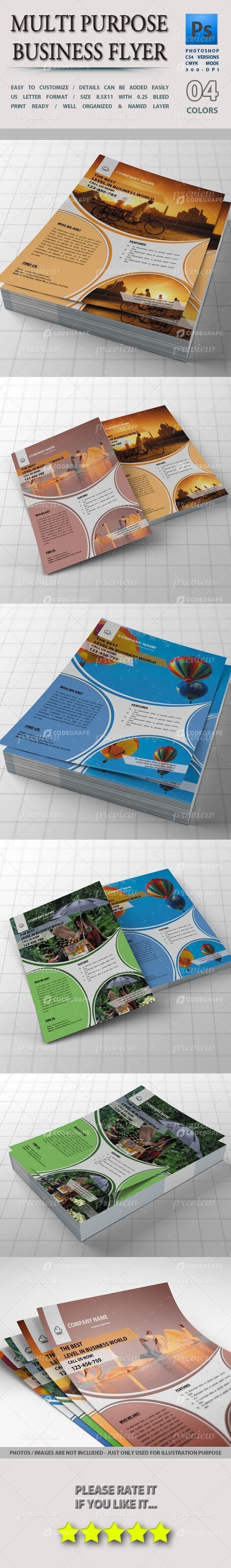 Multi-Purpose Business Flyer