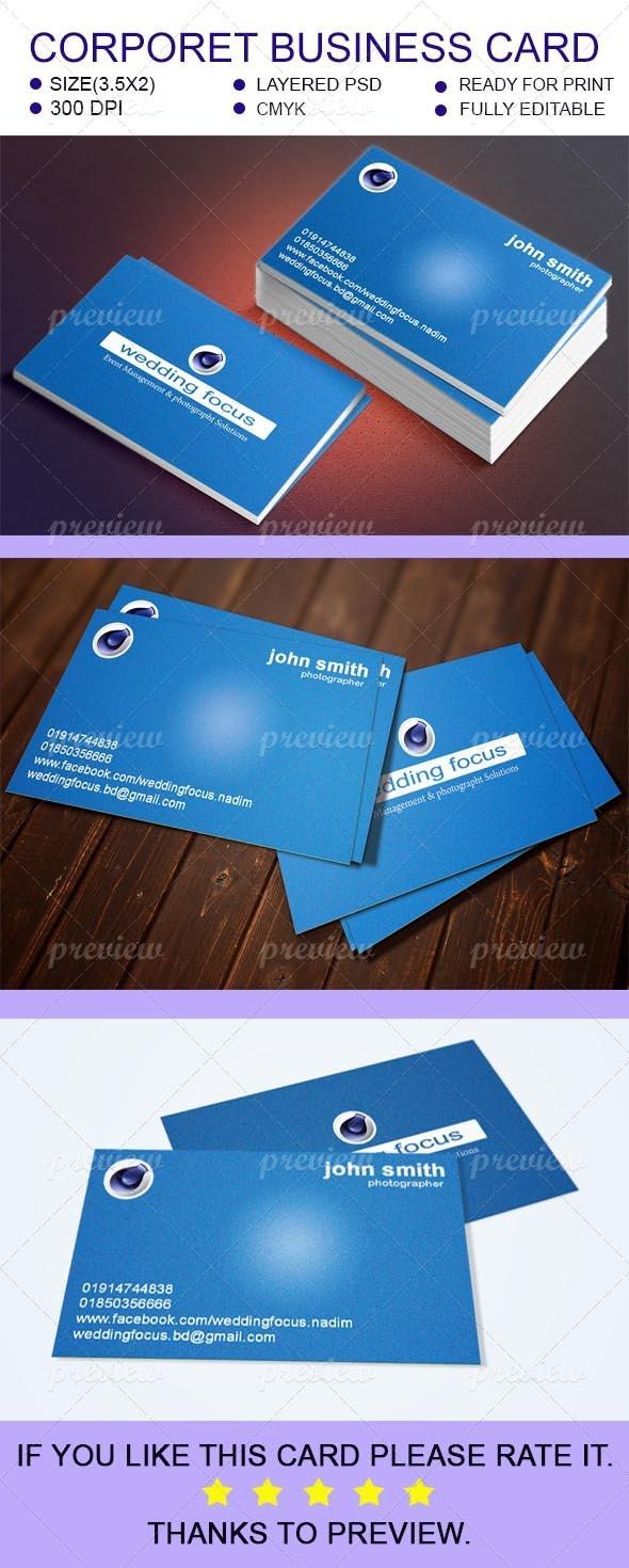 Corporet Business Card