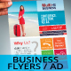 Corporate Multipurpose Business Flyer/Ad Templates