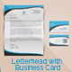 Corporate Letterhead With Business Card