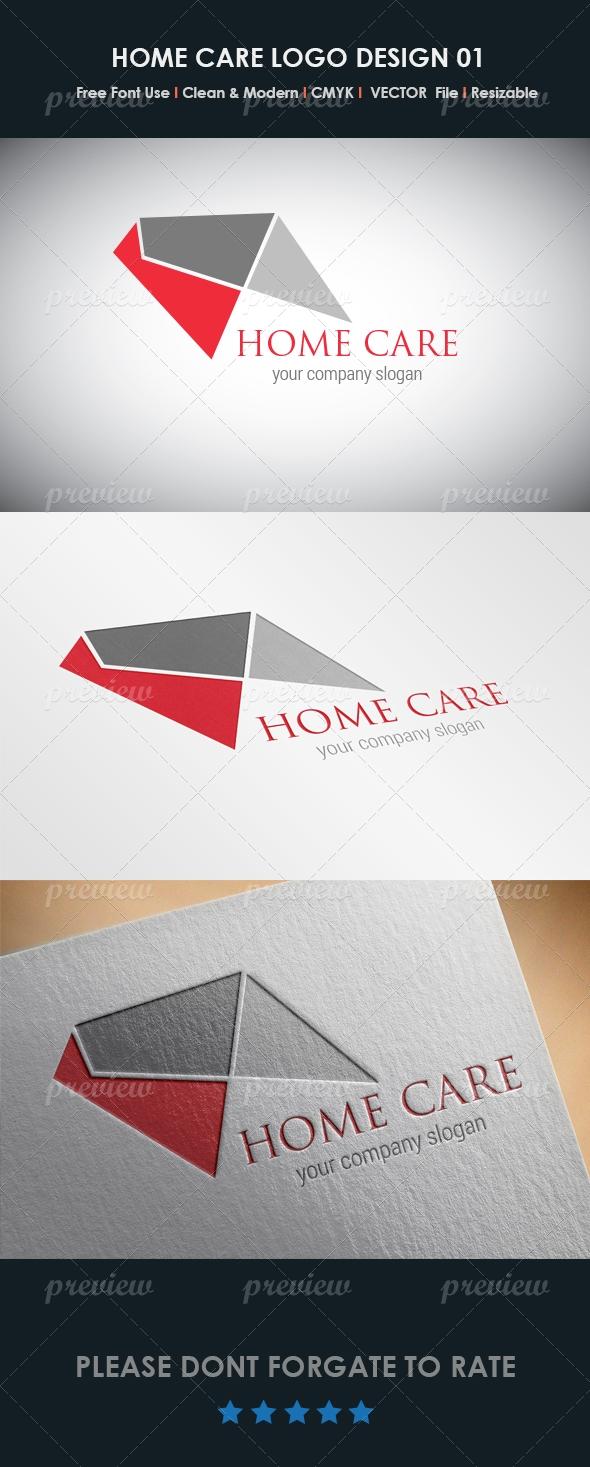 Home Care Logo Design 01