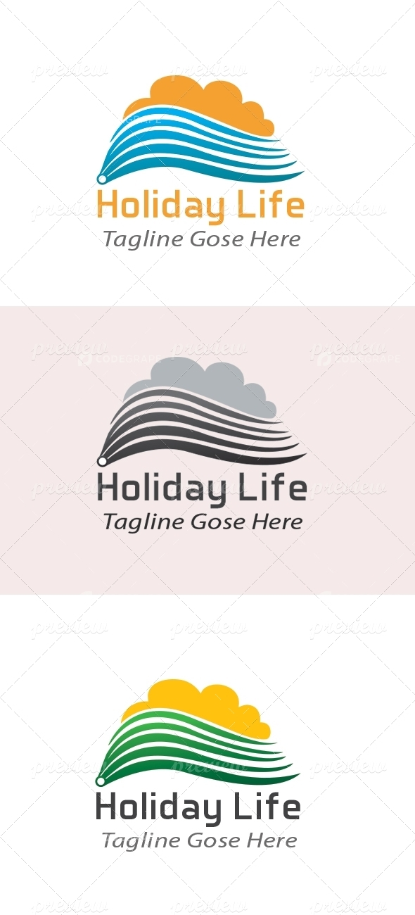 Holiday Business Logo