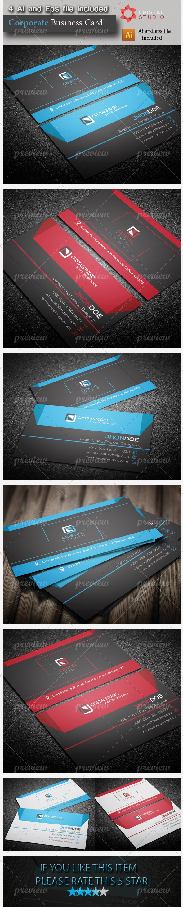 Corporate & Company Business Card