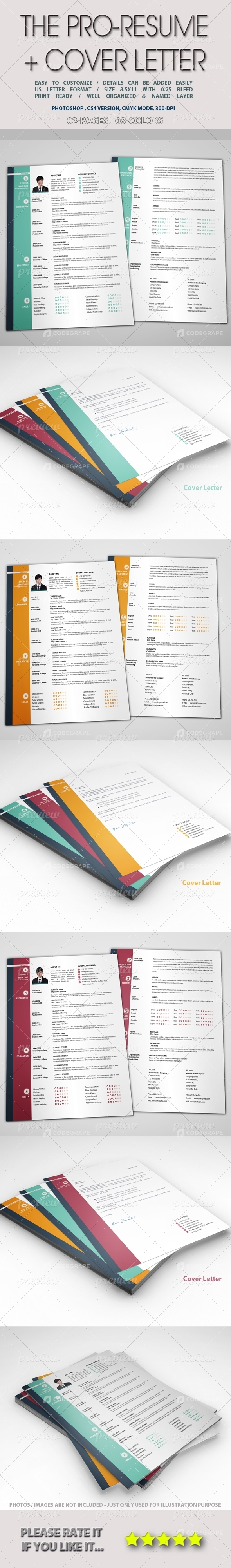 The Pro-Resume + Cover Letter