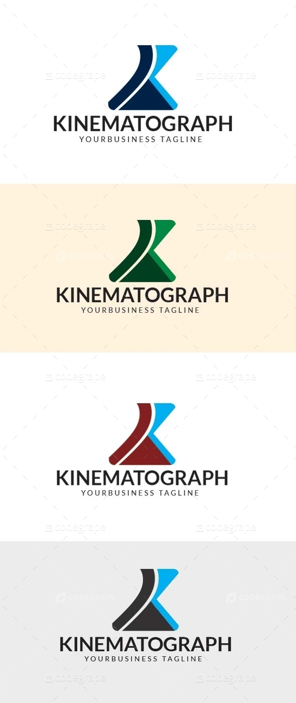 Kinematograph Creative Business Logo