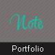 Note - Responsive Portfolio Template