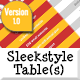 Sleekstyle Pricing Tables