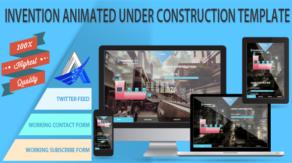 Invention Animated Under Construction Template