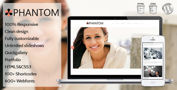 Phantom - Powerful WordPress Business and Portfolio Theme