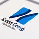 Xenon X Letter Logo