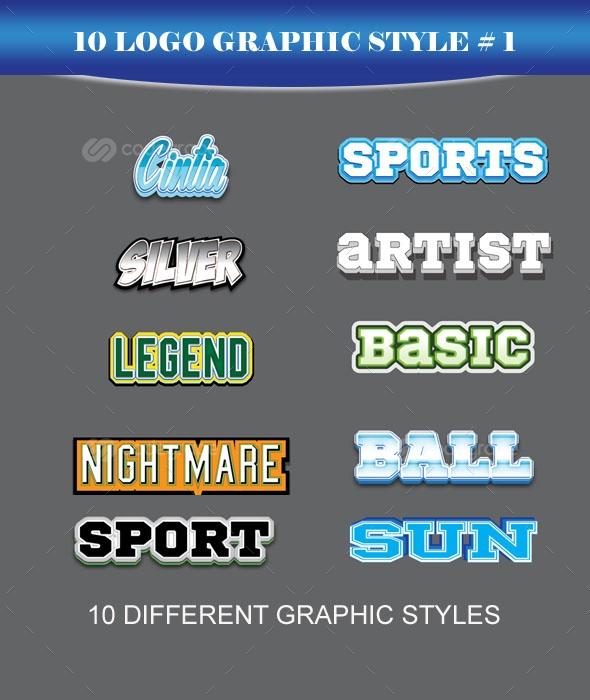 10 Logo Graphic Styles #1