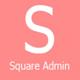 Square - Admin Template