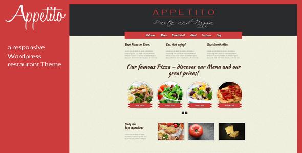 Appetito - WordPress Restaurant Theme