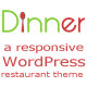 Dinner - WordPress Restaurant Theme