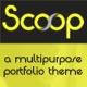 Scoop - Responsive Portfolio Theme