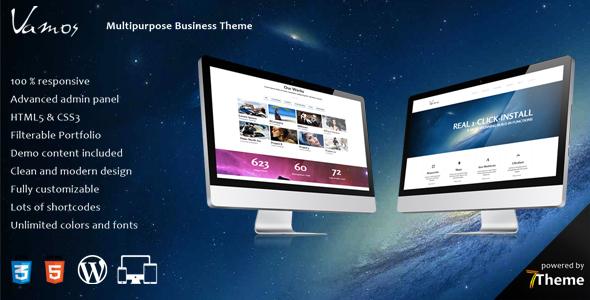 Vamos - Multipurpose Business Theme