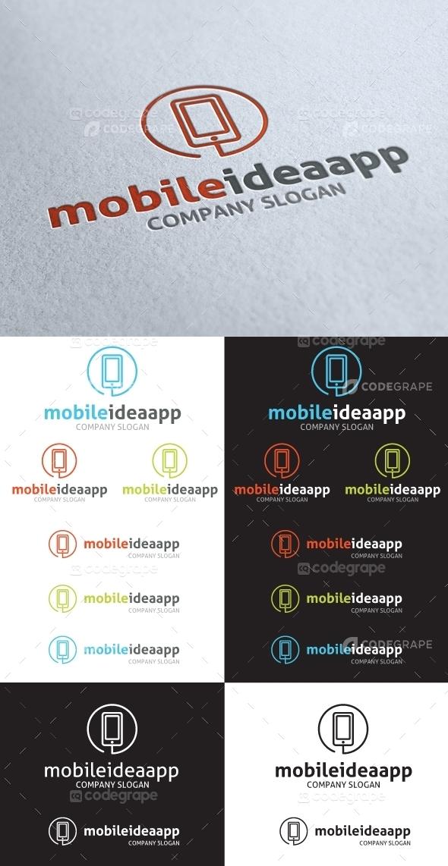 Mobile Idea App Logo