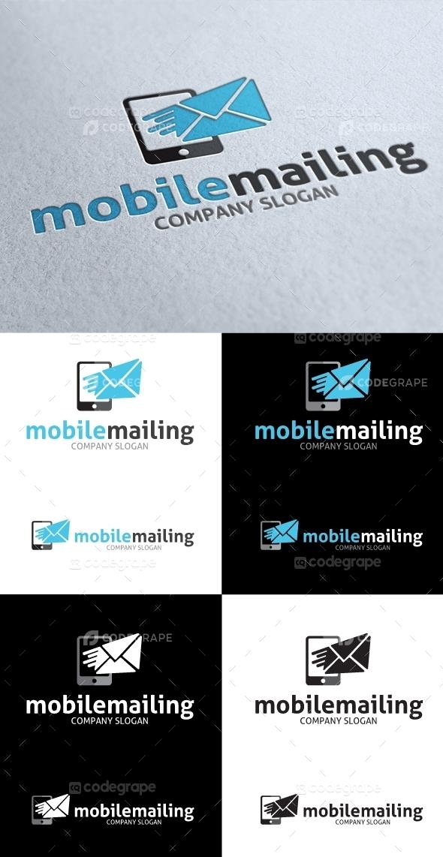 Mobile Mailing Service Logo