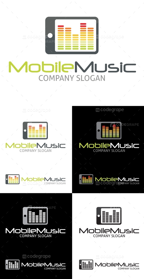 Mobile Music Logo V1