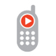 Mobile Music Player Logo