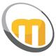 Mobile Orbital M Letter Logo