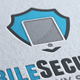 Mobile Secure Idea Logo