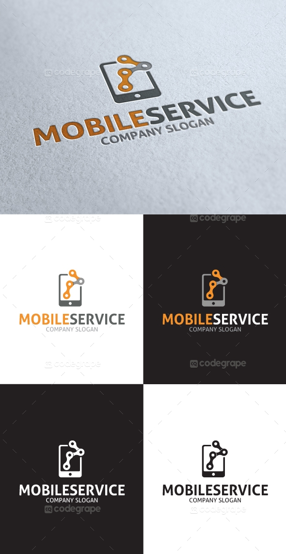 Mobile Services Logo V3