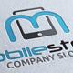 Mobile Stores M Letter Logo