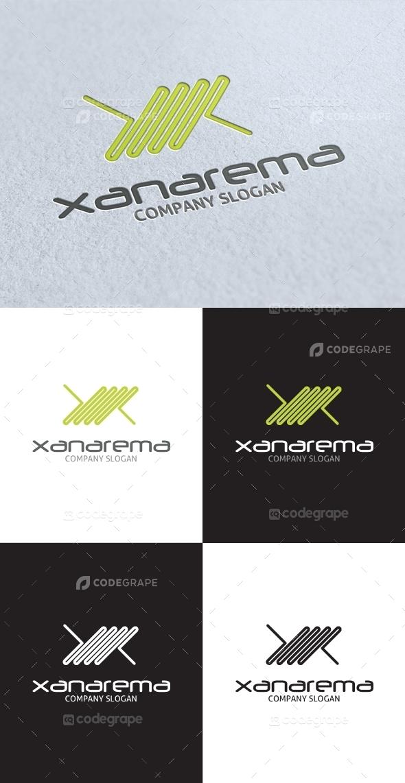 Xanarema X Letter Logo