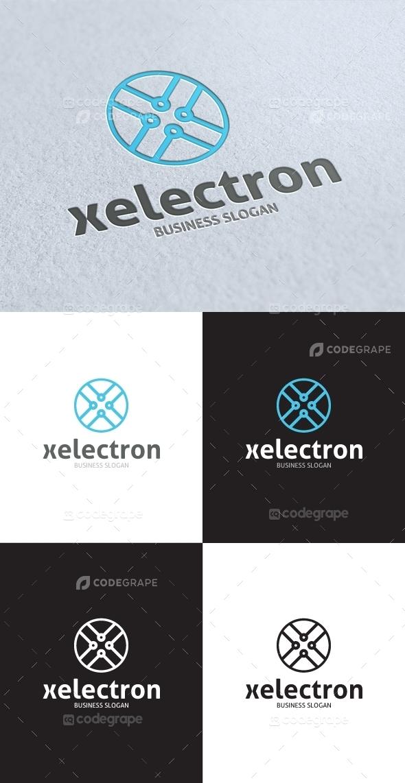 Xelectron X Letter Logo