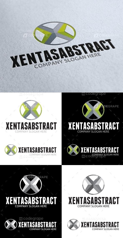 Xentas Abstract X Letter Logo