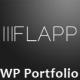 Flapp - Personal & Portfolio Flat WordPress Theme