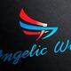 Angelic Wings Logo Template