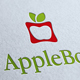Apple Box Logo Template