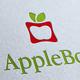 Apple Box Logo Template
