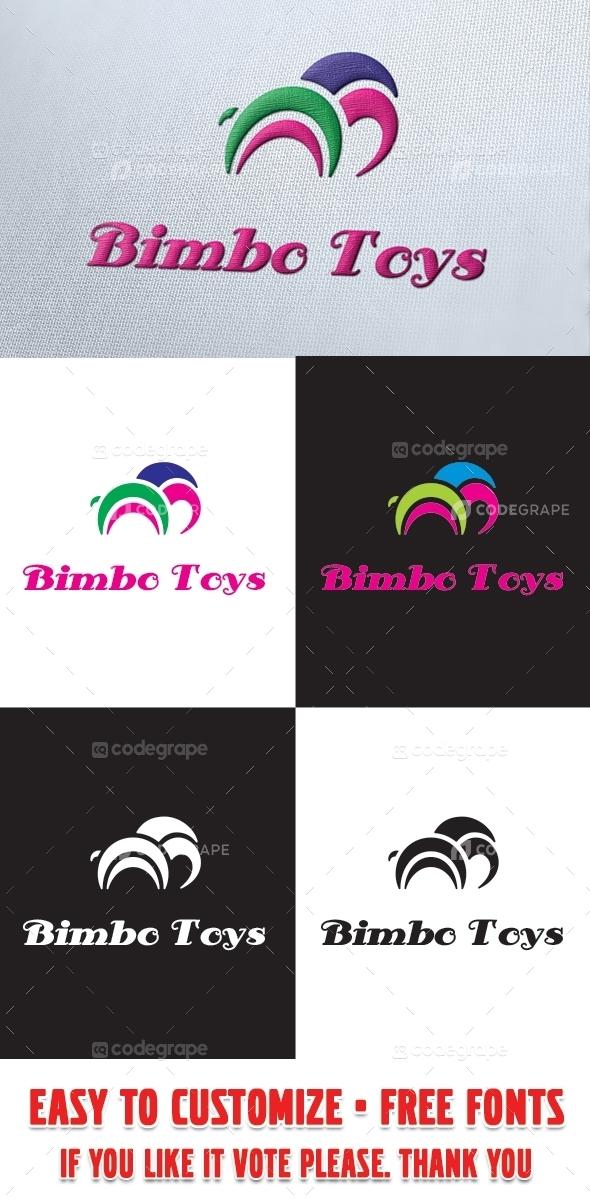 Bimbo Toys Logo Template