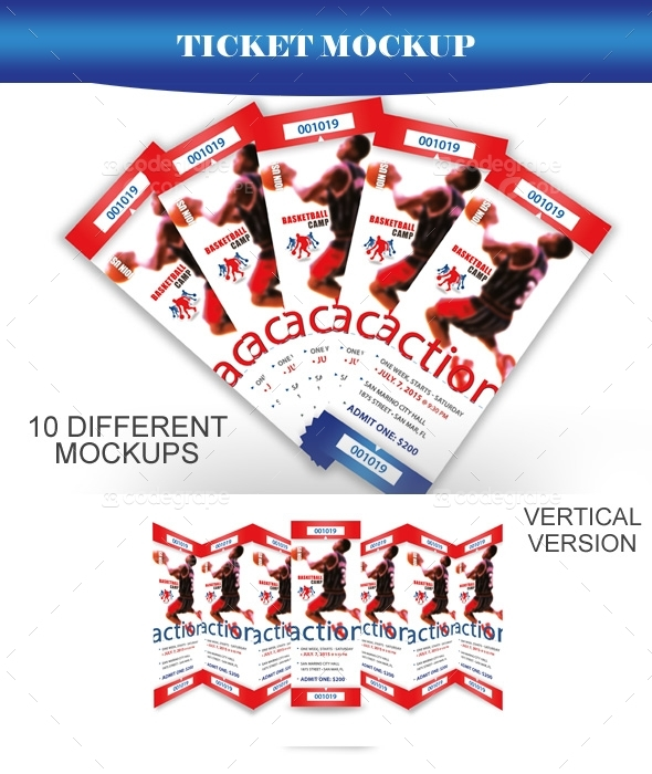 Ticket Mockup V1