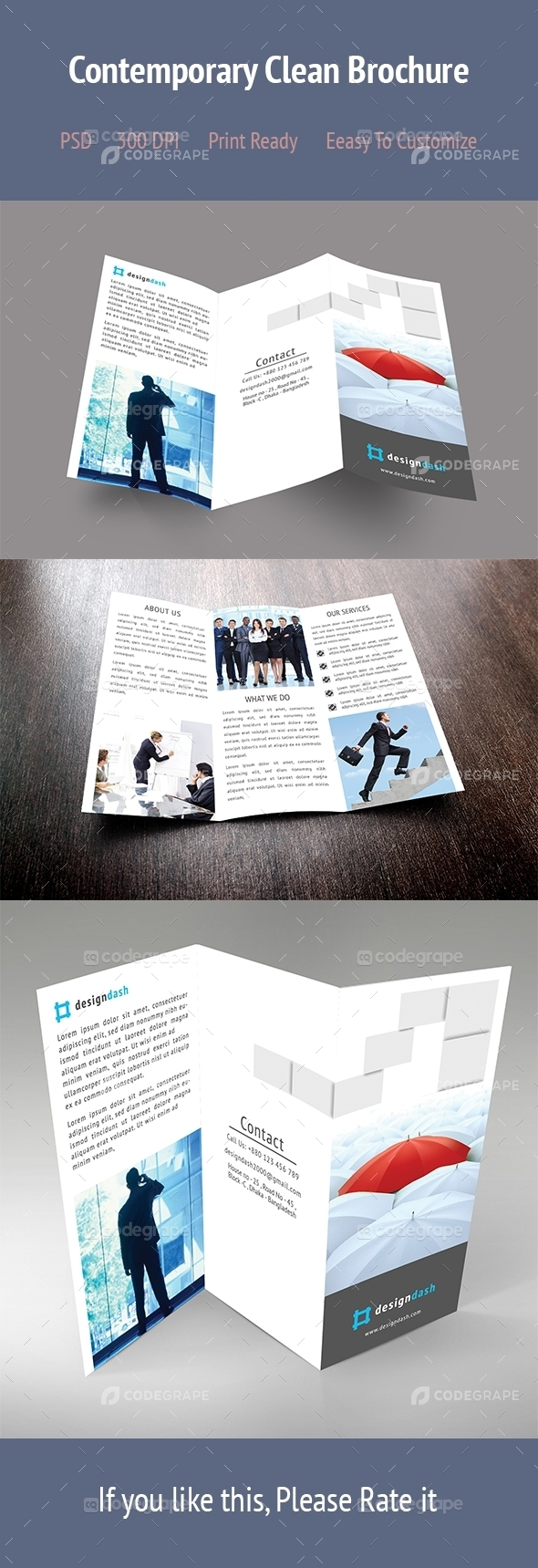 Contemporary Clean Brochure